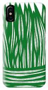 Hassenplug Plant Leaves Green White IPhone Case