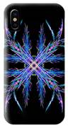 Colorful Crystalline Snowflake IPhone Case