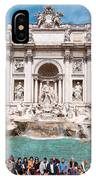 Fontana Di Trevi In Rome IPhone Case