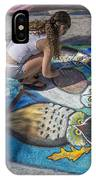 Lake Worth Street Painting Festival IPhone Case