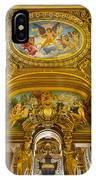 Palais Garnier Interior IPhone Case
