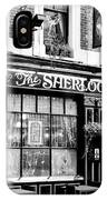 The Sherlock Holmes Pub IPhone Case