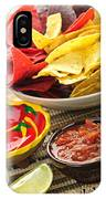 Tortilla Chips And Salsa IPhone Case