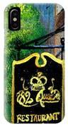 82 Queen IPhone Case