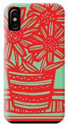 Worship Excelsior Flowers Red Green Blue IPhone Case