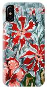 Mann Flowers IPhone Case