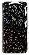 Mitzner Eagle Hawk Green Black Brown IPhone Case