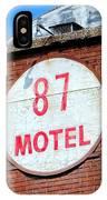 87 Motel IPhone Case
