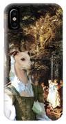 Italian Greyhound Art Canvas Print  IPhone Case