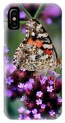 American Painted Lady Butterfly IPhone Case