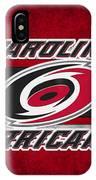 Carolina Hurricanes IPhone Case