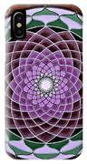 Cosmic Flower Mandala 6 IPhone Case