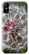 Dandelion Seed Head IPhone Case