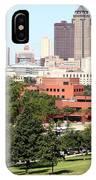 Des Moines Iowa IPhone Case