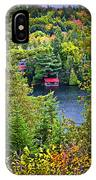 Fall Forest And Lake IPhone X Case