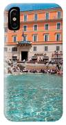 Fontana Di Trevi In Rome IPhone Case