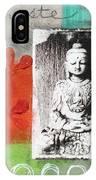Namaste IPhone Case by Linda Woods