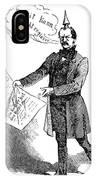 Prince Otto Von Bismarck  IPhone Case