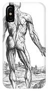 Vesalius: Muscles, 1543 IPhone Case