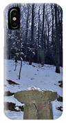 Stone Altar In The Woods IPhone Case