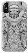 989 - Giant Creature Fractal ... IPhone Case