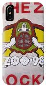 98.the Zoo Rocks IPhone X Case