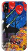 99 Red Balloons IPhone Case