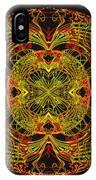 995 - Mandala In Earth Colours   IPhone Case