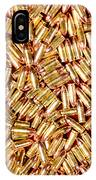 9mm Brass Ammo IPhone Case