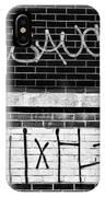9th Ward Creativity Bw IPhone Case