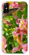 A Annas Humming Bird IPhone Case