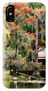 A Bayou Retreat IPhone Case