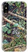 A Birds Nest Among Brambles IPhone Case