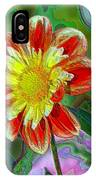 A Blooming Smile  IPhone Case