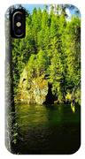 A Boulder Across The Seleway River  IPhone Case