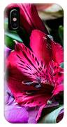 A Bouquet Of Peruvian Lilies IPhone Case