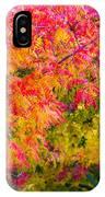 Autumn In Yountville, California IPhone Case