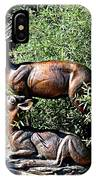 A Buck And His Doe IPhone Case