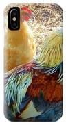 A Bunch Of Chickens IPhone Case