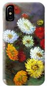 A Bunch Of Flowers IPhone Case