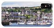 A Busy Harbour And Waterfrontkinsale IPhone Case