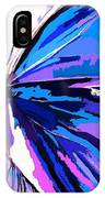 A Butterfly So Blue IPhone Case