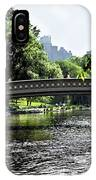 A Central Park Day IPhone Case