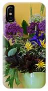 A Chanticleer Spring Bouquet IPhone Case