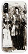 A Chess Tournament With Living Pieces At Brighton IPhone Case