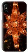 A Christmas Star IPhone Case