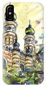 A Church In Budapest 01 IPhone Case