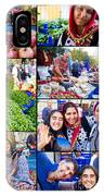 A Collage Of The Fresh Market In Kusadasi Turkey IPhone Case
