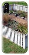A Colonial Garden IPhone Case
