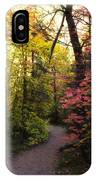 A Colorful Path  IPhone Case